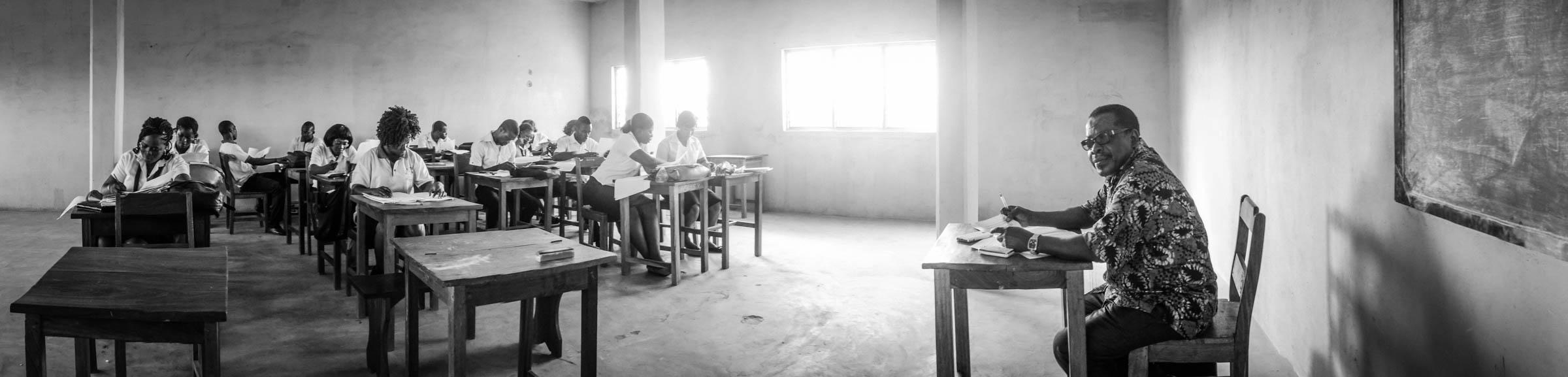 Togolese schoolteacher (2014)