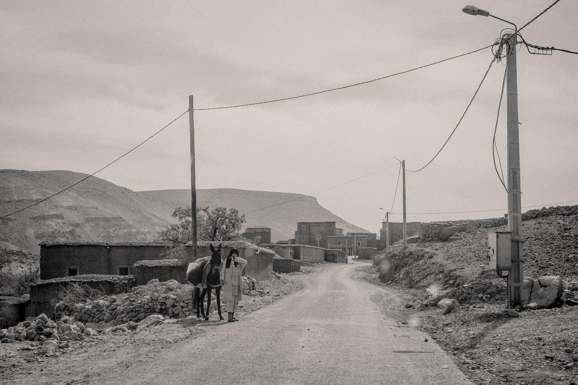 Maroccan streetside (2014)